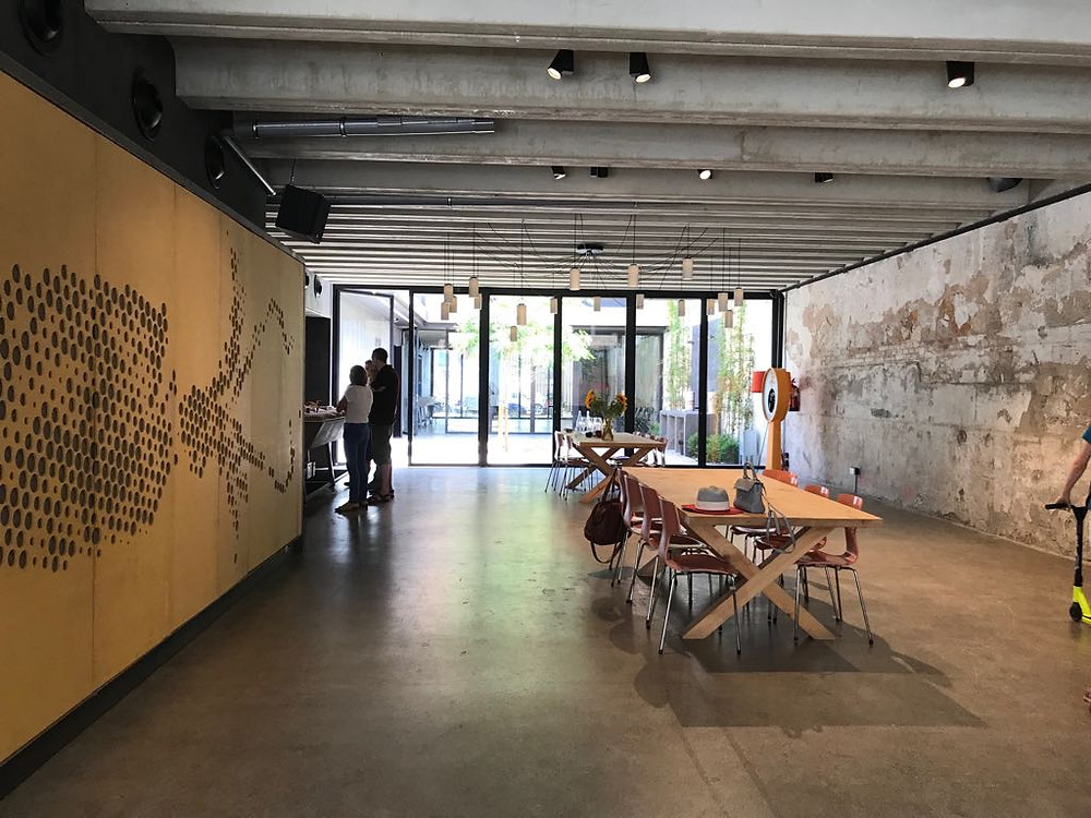 industrial event space by Event Barcelona agency