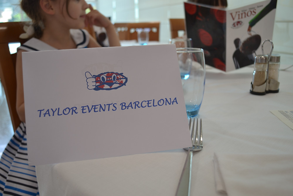 beautiful lunch event barcelona