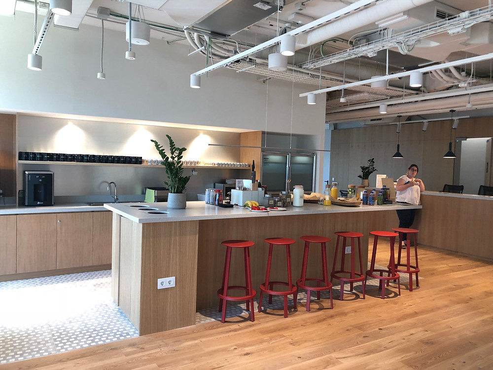 Event Barcelona kitchen at wework