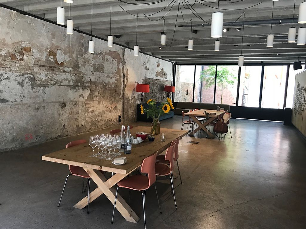 Industrial space in Barcelona for corporate events