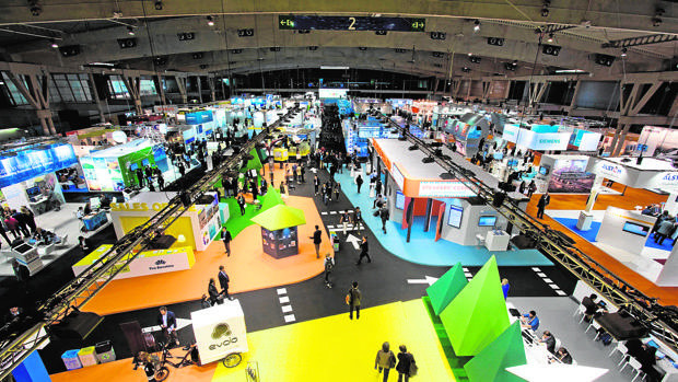 Event Barcelona agency trade show booth building at smart city expo