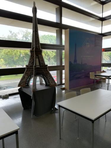 Eiffel tower PVC custom design