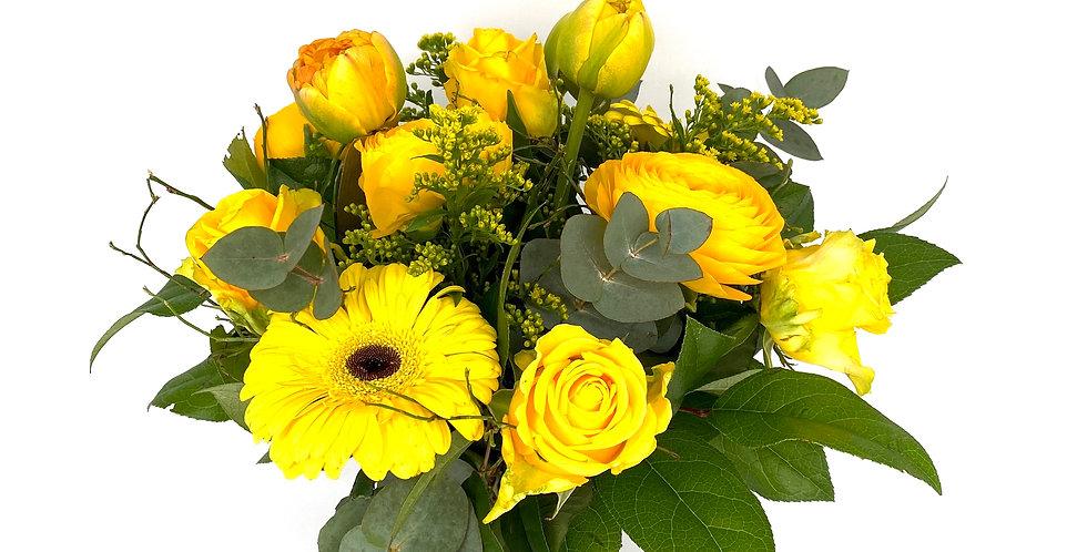Blumenstrauß gelb