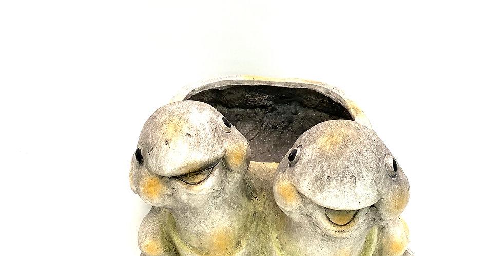 Schildkröten Dekotopf