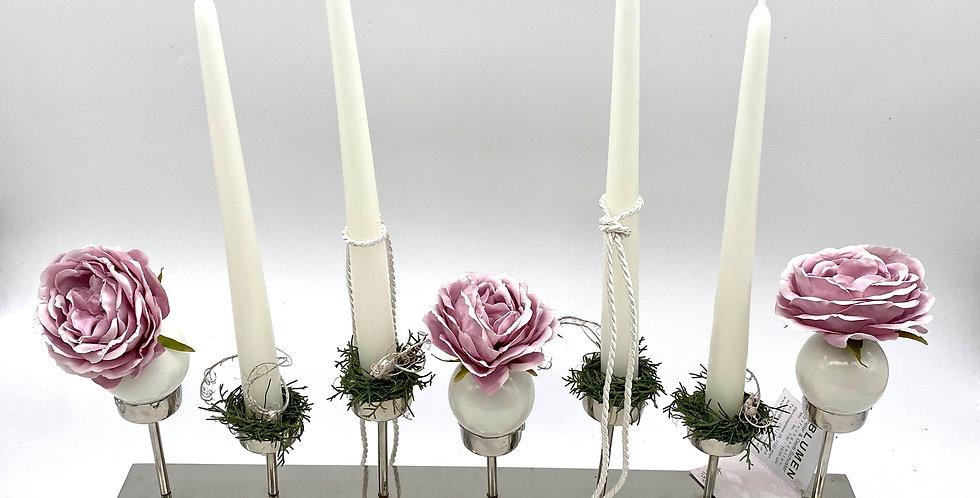 Kerzenständer Rosen