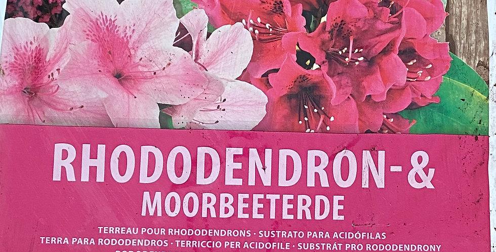 Rhododendronerde & Moorbeeterde