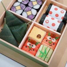 アレンジ寿司4種盛り合わせ