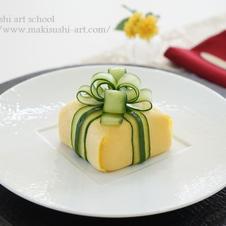 プレゼント型寿司