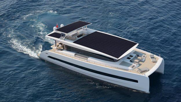 silent-yacht solar powered yacht