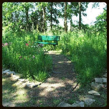 park walking trail