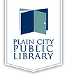plain city library logo