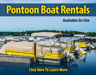 Pontoon Boat Rental Ad