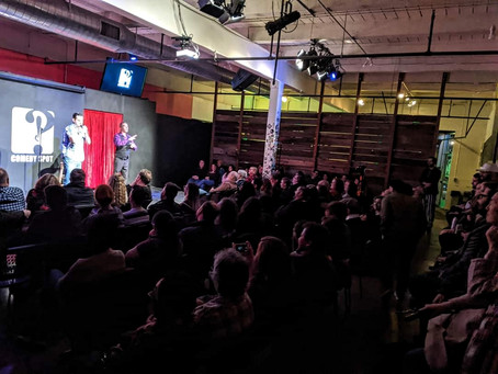 January 19, 2020: We sold out the Sacramento Comedy Spot!