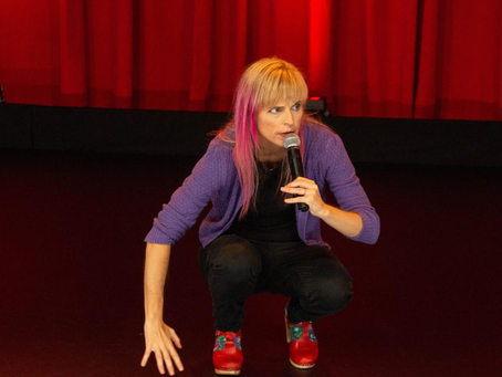 """I may be mental, but I'm a millionaire!"" says Maria Bamford"