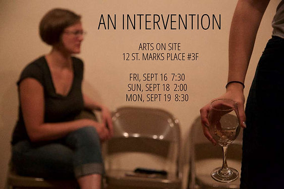 Elizabeth Colwell An Intervention