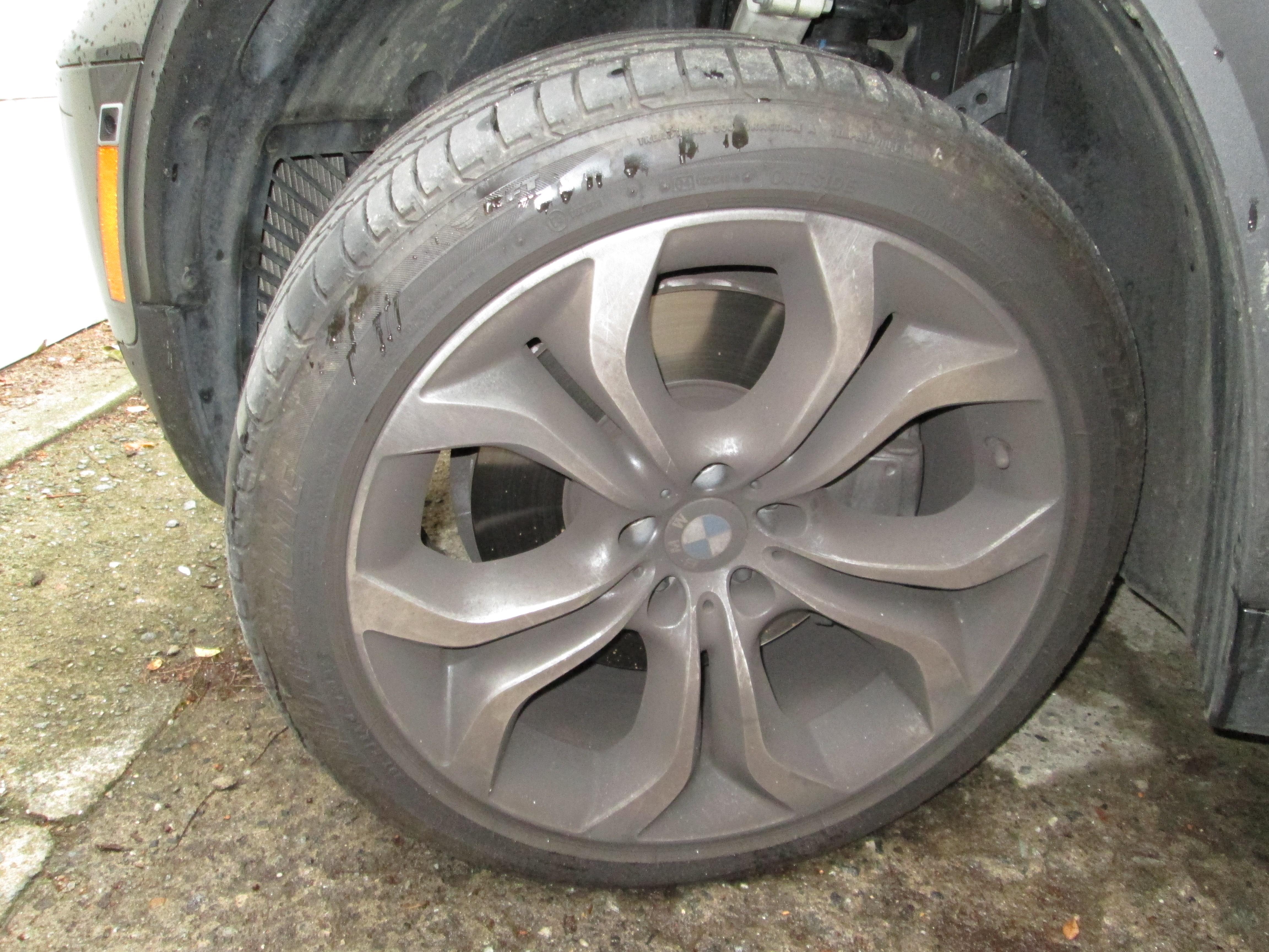 BMW X5 Wheels BEFORE