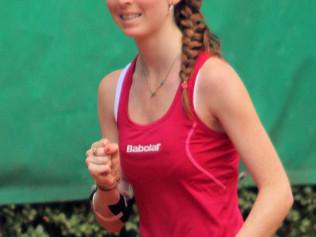 Astrid Leclere, une future championne qu'on aime particulièrement au TC Marche !