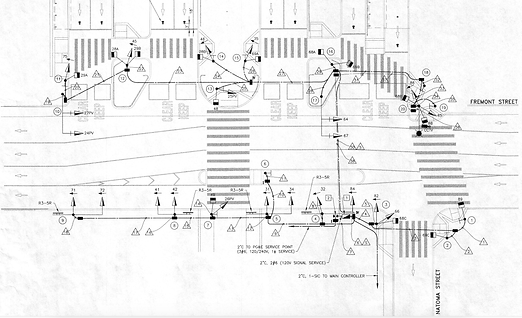 Transbay Midblock Crosswalk Signal Design