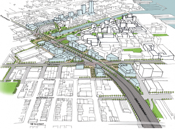 Railyard Boulevard Aerial