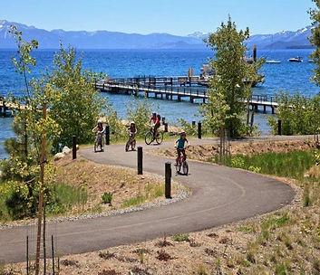 Lake Tahoe Bike Path