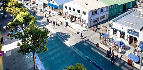 Pedestrian place