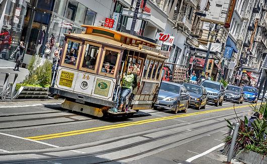 Powell Promenade Cable Car