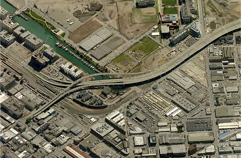 Existing I-280 Elevated Freeway