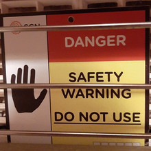 Danger - Safety Warning - Do Not Use