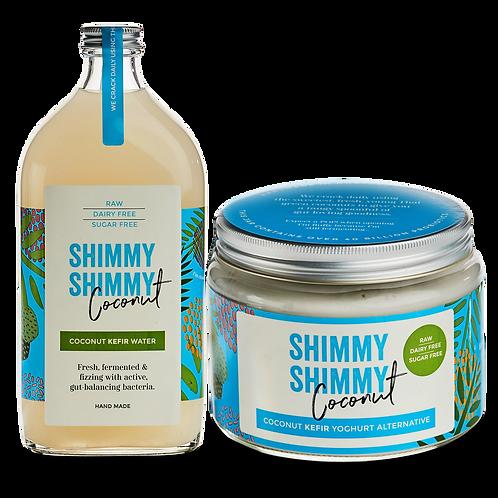 500ml Coconut Kefir Water & 500g Coconut Kefir Yoghurt Alternative