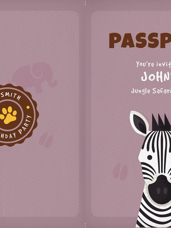 Tarjetas Safari Passport Vanaplegarya