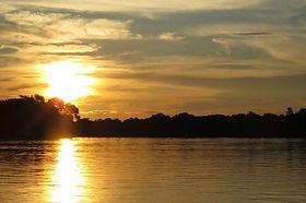 Landscape - Sunset at Pantanal