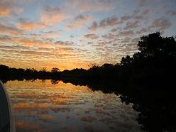 Landscape - Sunset at the Pantanal
