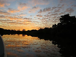 Landscape - Sunset at the Pantanal