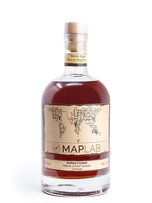 MAP Lab - Barrel Aged Mezcal Negroni #1