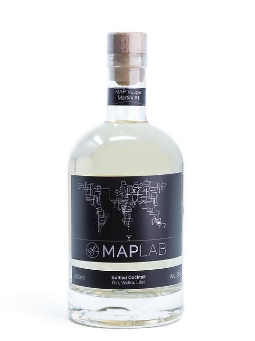 MAP Lab - MAP Vesper Martini #1
