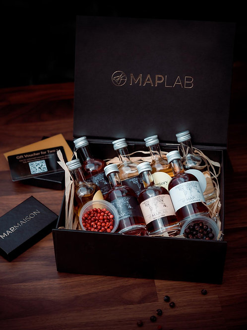 MAP Lab - Set of 8 mini premium bottled cocktails
