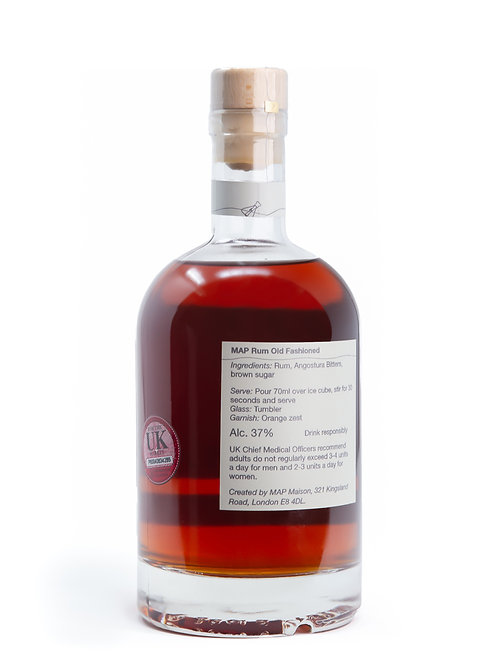 MAP Lab - MAP Rum Old Fashioned