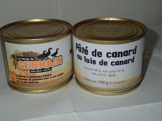 Pâté de canard au foie gras