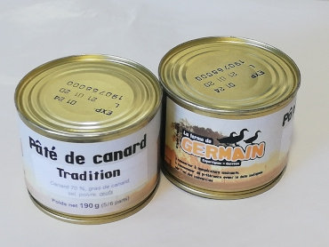 Pâté de canard tradition