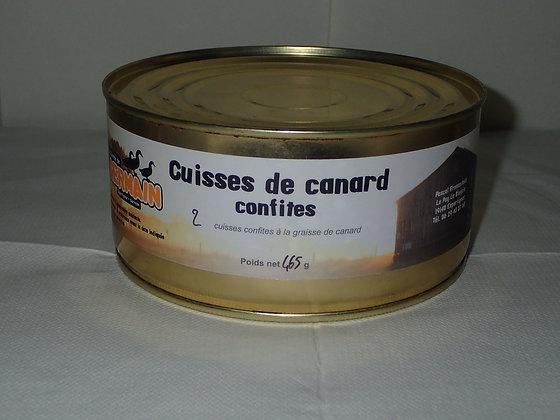 Cuisses de canard confites en conserve par 2