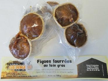 Figues fourrées au foie gras x2