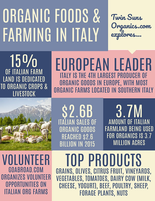 Organic Food & Farming in Italy | Twin Suns Organics