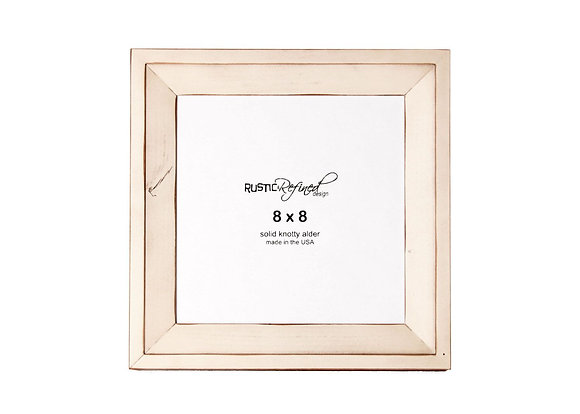 8x8 Haven picture frame - Off White