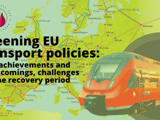 Greening EU transport policies: Past achievements, shortcomings & challenges for the recovery period