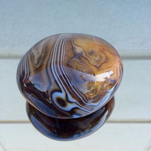 Banded Agate gemstone