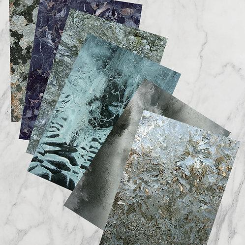 """""""väder & tid"""" ArtCard 6-pack"""