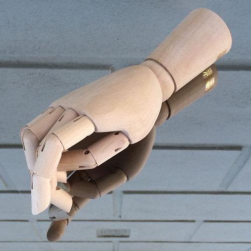 Hand wood