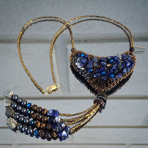Midnight Blues necklace