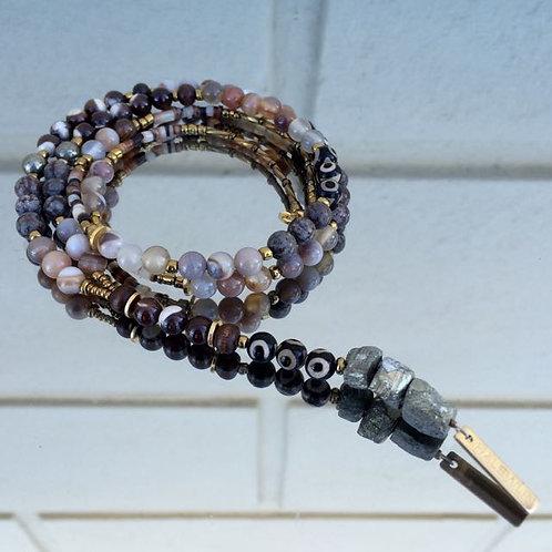 Gemstone necklace N°4