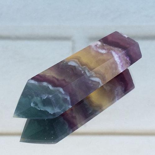 Fluorite wand
